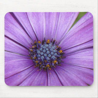Pretty Garden Flower with Purple Petals Mouse Pad