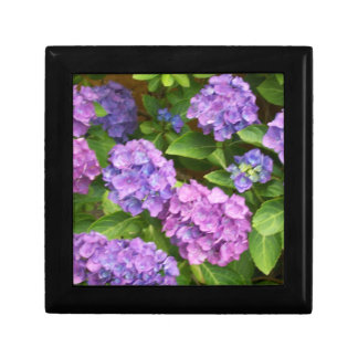 Pretty Gift Box with Hydrangeas