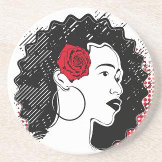 Pretty Girl Drink Coaster