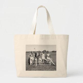 Pretty Girl Golfers 1920s Bags