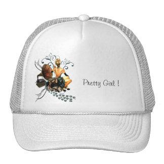 Pretty Girl Mesh Hats