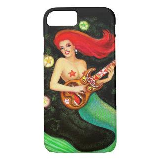 Pretty Girl Mermaid Tiki Music iPhone 7 case