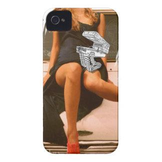 Pretty Girl & Mini Fameland Motorhome iPhone 4 Covers