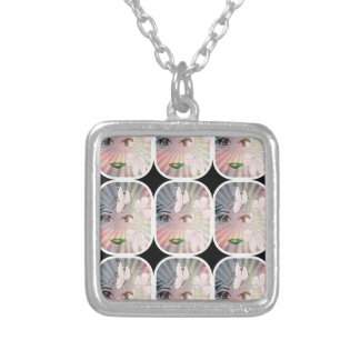 Pretty Girl Square Necklace