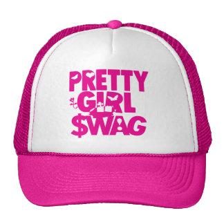 pretty girl swag trucker hats