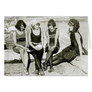 Pretty Girls, 1920s Card