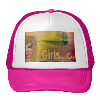 Pretty Girls Don't Cry Trucker Hat
