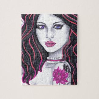 Pretty girls jigsaw puzzle