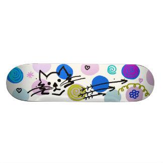 Pretty girly decoration 21.6 cm skateboard deck