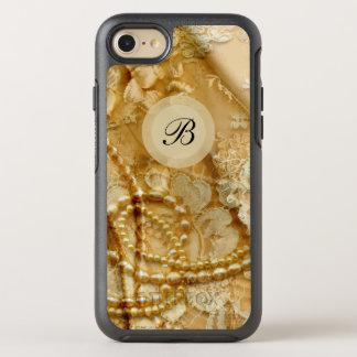 Pretty Girly Monogram OtterBox Symmetry iPhone 8/7 Case