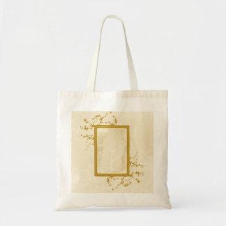 Pretty Golden Vines Bag