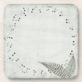 Pretty Grunge Template Coaster