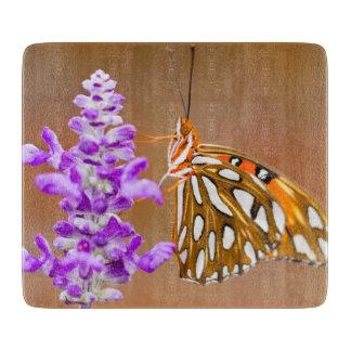 Pretty Gulf Fritillary Butterfly Cutting Boards