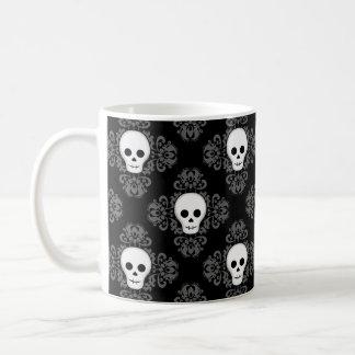 Pretty Halloween skull pattern Coffee Mug