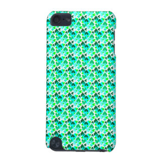 Pretty Hearts Pattern Mobile Case Green iPod Touch (5th Generation) Cases