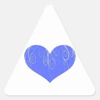 Pretty Hearts Triangle Sticker