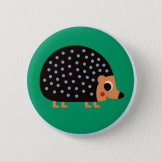 Pretty hedgehog 6 cm round badge