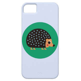 Pretty hedgehog barely there iPhone 5 case