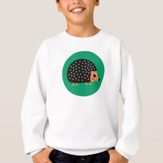 Pretty hedgehog sweatshirt