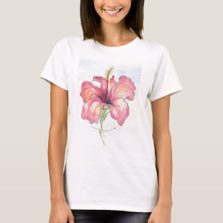 pretty hibiscus flower T-Shirt