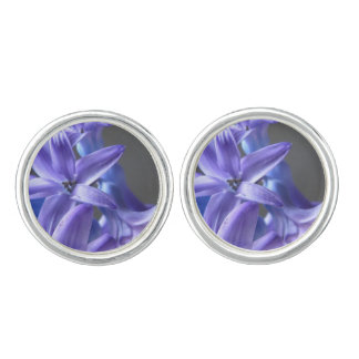 Pretty Hyacinth Cufflinks