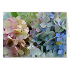 Pretty Hydrangea Flowers Blank Note Card