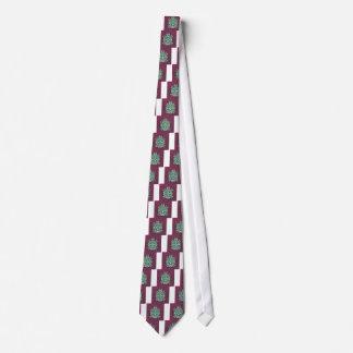 Pretty In Contrast - Digital Design Tie