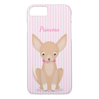 Pretty in Pink Chihuahua iPhone 7 Case