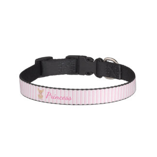 Pretty in Pink Chihuahua Pet Collar