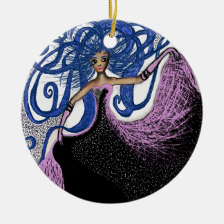 Pretty in Pink Christmas Ornament