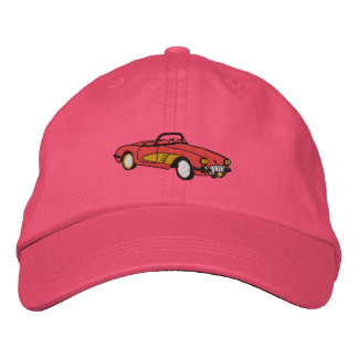 Pretty in Pink Embroidered Baseball Cap