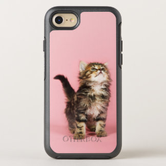 Pretty in Pink Kitten OtterBox Symmetry iPhone 8/7 Case