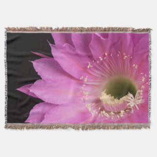 Pretty in pink Maria Piazza Throw Blanket