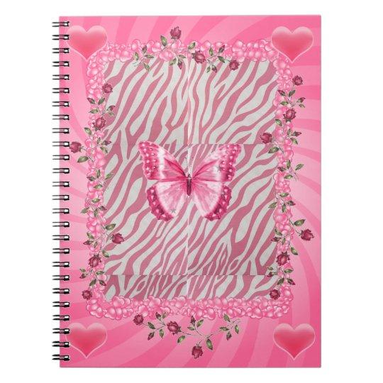 Pretty in Pink Notebook