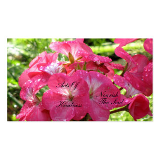 Pretty in Pink - Random Acts of Kindness Cards Business Card Templates