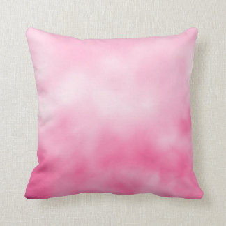 Pretty in Pink Reversible Tie Dye Throw Pillow