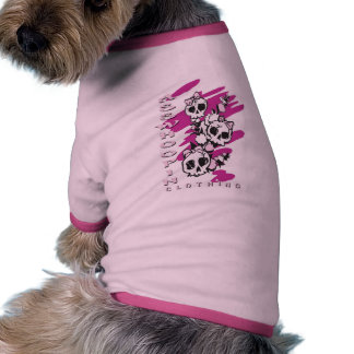 PRETTY IN PINK RINGER DOG SHIRT