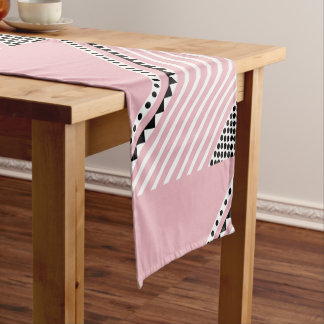Pretty in pink table runner