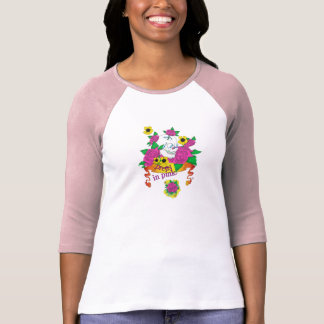 Pretty in pink tee shirt