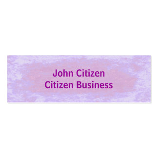 Pretty in Pink Texture Business Card Template