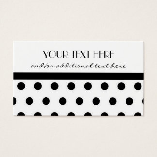 Pretty in Polka Dots Business Card