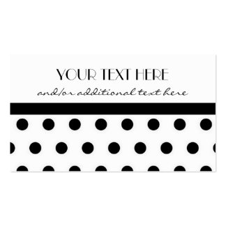 Pretty in Polka Dots Pack Of Standard Business Cards