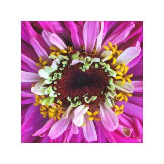 Pretty in Purple Flower Canvas Print