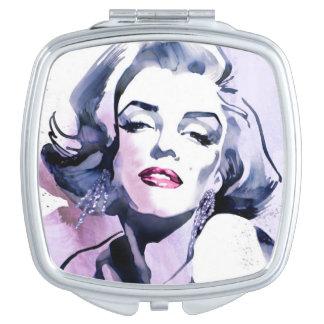 Pretty in Purple Mirror For Makeup