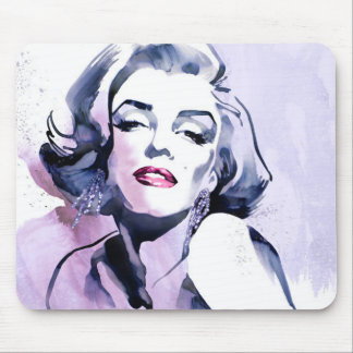 Pretty in Purple Mouse Mat