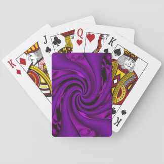 Pretty in Purple... Playing Cards