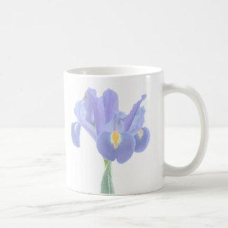 Pretty Iris Floral Mug