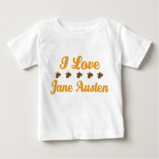 Pretty Jane Austen Lover Baby T-Shirt