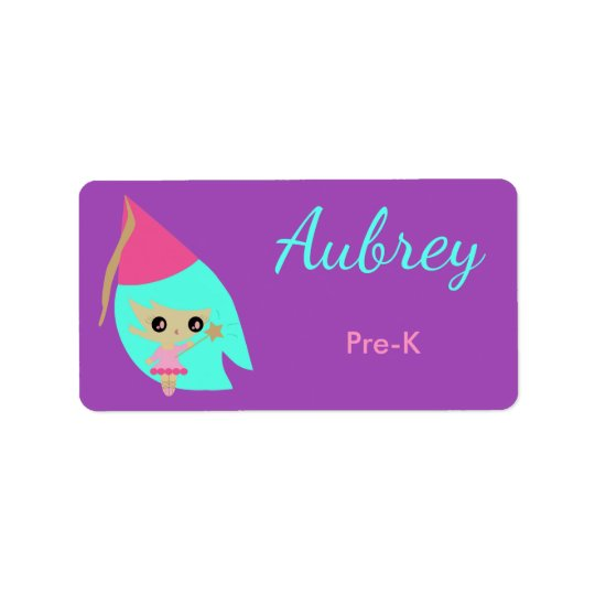 Pretty Kawaii Princess custom labels