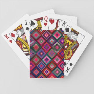 Pretty Kilim Pattern Deck of Cards